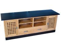 Lattice TV Stand