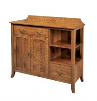 Old World #520 Tall Sideboard