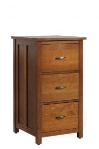 Mission 3-Drawer File Cabinet